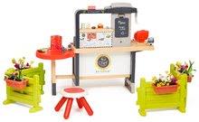 Kuchynky pre deti sety - Reštaurácia s elektronickou kuchynkou Chef Corner Restaurant Smoby na záhrade_1