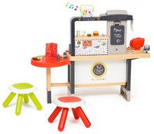 Elektronické kuchynky - Reštaurácia s elektronickou kuchynkou Chef Corner Restaurant Smoby s audio rekordérom_1