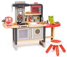 Elektronické kuchynky - Reštaurácia s elektronickou kuchynkou Chef Corner Restaurant Smoby s posedením na záhrade_19