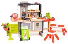 Kuchynky pre deti sety - Reštaurácia s elektronickou kuchynkou Chef Corner Restaurant Smoby s lavičkou_1