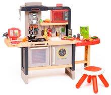 Elektronické kuchynky - Reštaurácia s elektronickou kuchynkou Chef Corner Restaurant Smoby s plotom a mikrovlnkou_1