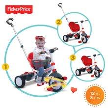 Trojkolky od 10 mesiacov - Trojkolka Fisher-Price Charm Touch Steering smarTrike červená od 10 mes_3
