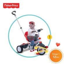 Trojkolky od 10 mesiacov - Trojkolka Fisher-Price Charm Touch Steering smarTrike červená od 10 mes_4
