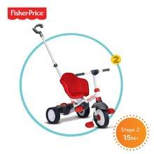 Trojkolky od 10 mesiacov - Trojkolka Fisher-Price Charm Touch Steering smarTrike červená od 10 mes_1