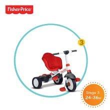 Trojkolky od 10 mesiacov - Trojkolka Fisher-Price Charm Touch Steering smarTrike červená od 10 mes_2