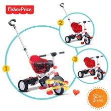 Trojkolky od 10 mesiacov - Trojkolka Fisher-Price Charm Touch Steering smarTrike červená od 10 mes_0