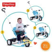 Trojkolky od 10 mesiacov - Trojkolka Fisher-Price Charm Touch Steering smarTrike modrá od 12 mes_3