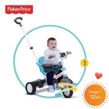 Trojkolky od 10 mesiacov - Trojkolka Fisher-Price Charm Touch Steering smarTrike modrá od 12 mes_4