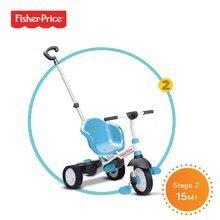 Trojkolky od 10 mesiacov - Trojkolka Fisher-Price Charm Touch Steering smarTrike modrá od 12 mes_1