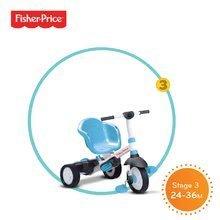 Trojkolky od 10 mesiacov - Trojkolka Fisher-Price Charm Touch Steering smarTrike modrá od 12 mes_2