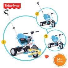 Trojkolky od 10 mesiacov - Trojkolka Fisher-Price Charm Touch Steering smarTrike modrá od 12 mes_0