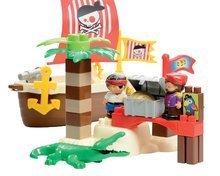 3179 b ecoiffier stavebnica piratska lod