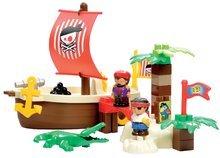 3179 c ecoiffier stavebnica piratska lod
