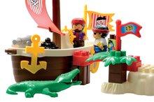 3179 d ecoiffier stavebnica piratska lod