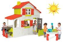 Szett házikó gyerekeknek Duplex Smoby emeletes és multifunkciós asztal Víz&Homok 2in1