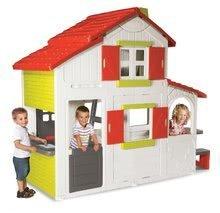 Domčeky pre deti - Domček Maison Duplex Smoby dvojposchodový s kuchynkou_5