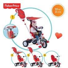 Trojkolky od 10 mesiacov - Trojkolka Fisher-Price Charisma Touch Steering smarTrike červená od 10 mes_4