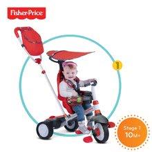 Trojkolky od 10 mesiacov - Trojkolka Fisher-Price Charisma Touch Steering smarTrike červená od 10 mes_5