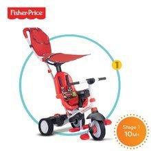 Trojkolky od 10 mesiacov - Trojkolka Fisher-Price Charisma Touch Steering smarTrike červená od 10 mes_0