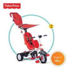 Trojkolky od 10 mesiacov - Trojkolka Fisher-Price Charisma Touch Steering smarTrike červená od 10 mes_1