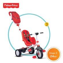 Trojkolky od 10 mesiacov - Trojkolka Fisher-Price Charisma Touch Steering smarTrike červená od 10 mes_2