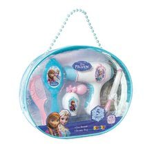 Kozmetický stolík pre deti - Kadernícka sada Frozen Smoby so sušičom na vlasy a bižutériou_0