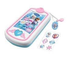 Dětský smartphone Frozen Smoby zvukový mobilní telefon se světlem a třpytkami