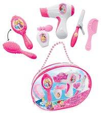 Geantă de cosmetice pentru fetiţe Prinţesele Disney Smoby roz cu sclipici