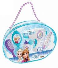 Geantă cosmetică Frozen Beauty Bag cu uscător electric și 5 accesorii