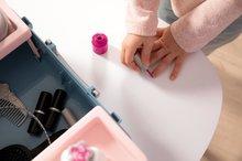Kozmetična mizica za otroke - Kozmetični kovček My Beauty Vanity 3in1 Smoby frizerstvo in kozmetika z manikiro s 13 dodatki_16