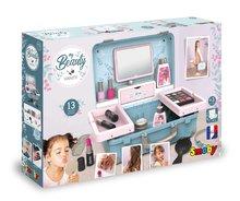 Kozmetična mizica za otroke - Kozmetični kovček My Beauty Vanity 3in1 Smoby frizerstvo in kozmetika z manikiro s 13 dodatki_17