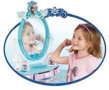 Kozmetický stolík pre deti - Kozmetický stolík Frozen Smoby s otváracími zásuvkami a doplnkami modrý_0