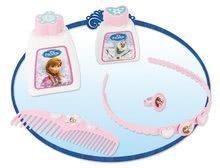 Kozmetický stolík pre deti - Kozmetický stolík Frozen Smoby s otváracími zásuvkami a doplnkami modrý_1