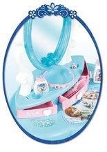 Kozmetický stolík pre deti - Kozmetický stolík Frozen Smoby s otváracími zásuvkami a doplnkami modrý_2