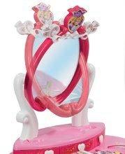 Kozmetický stolík pre deti - Kozmetický stolík Disney Princezné Smoby 2v1 so stoličkou a 10 doplnkami ružový_1