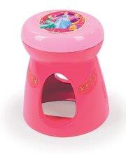 Kozmetický stolík pre deti - Kozmetický stolík Disney Princezné Smoby 2v1 so stoličkou a 10 doplnkami ružový_2