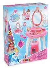 Kozmetický stolík pre deti - Kozmetický stolík Disney Princezné Smoby 2v1 so stoličkou a 10 doplnkami ružový_6