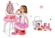 Set măsuţă de cosmetică 2-in1 Prinţesele Smoby și set mic dejun în gentuţă