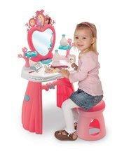 Măsuță cosmetică Princezné Smoby cu scăunel și 10 accesorii