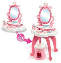 Kuchynky pre deti sety - Set kuchynka Disney Princezné Smoby s hodinami a kozmetický stolík so stoličkou_8