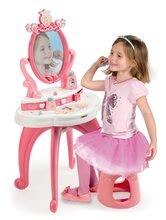 Kuchynky pre deti sety - Set kuchynka Disney Princezné Smoby s hodinami a kozmetický stolík so stoličkou_5