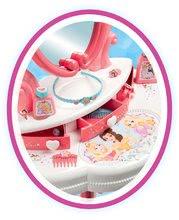 Kuchynky pre deti sety - Set kuchynka Disney Princezné Smoby s hodinami a kozmetický stolík so stoličkou_10