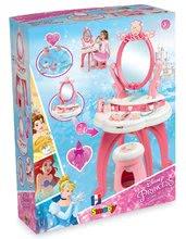 Kuchynky pre deti sety - Set kuchynka Disney Princezné Smoby s hodinami a kozmetický stolík so stoličkou_14