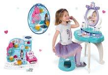 Kozmetické stolíky sety - Set kozmetický stolík Frozen Smoby so stoličkou a zmrzlináreň Frozen_14
