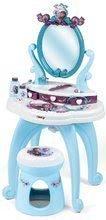 Kozmetický stolík Frozen 2 Disney 2v1 Smoby so stoličkou a 10 doplnkov
