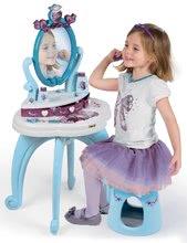 Kozmetické stolíky sety - Set kozmetický stolík Frozen Smoby so stoličkou a magnetická obojstranná tabuľa polohovateľná_8