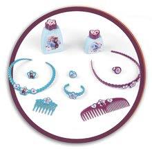 Kozmetické stolíky sety - Set kozmetický stolík Frozen Smoby so stoličkou a magnetická obojstranná tabuľa polohovateľná_1