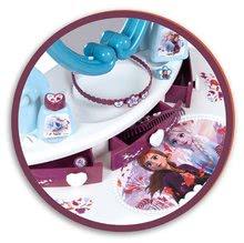 Kozmetické stolíky sety - Set kozmetický stolík Frozen Smoby so stoličkou a magnetická obojstranná tabuľa polohovateľná_2