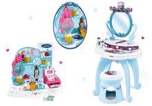 Kozmetické stolíky sety - Set kozmetický stolík Frozen Smoby so stoličkou a zmrzlináreň Frozen_9