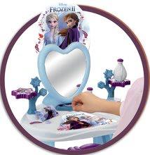 Kosmetický stolek pro děti - Kosmetický stolek se židličkou Frozen Smoby se srdíčkovým zrcadlem a 10 doplňky_3